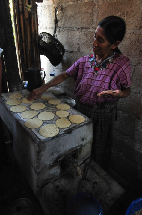 Tortillas making process