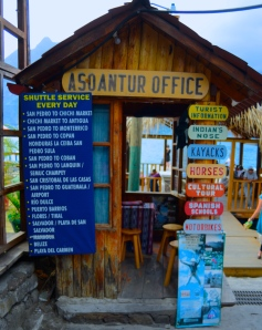 Our office at the San Pedro's dock