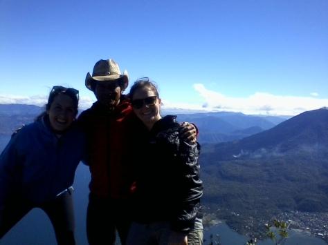 En la cima del volcan San Pedro 3